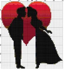 4 free romantic valentine needlepoint designs