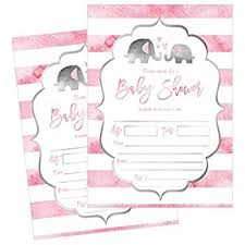 hallmark baby shower invitations elephant tons of