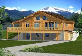Hillside Walkout Basement House Plans Beautiful House Plans with