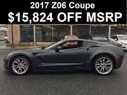 2017 chevrolet corvette z06 msrp 2017 chevrolet corvette 3lz 15 824 off msrp 2017 corvette z06 w