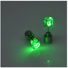 light up earring studs led light up bright earring ear stud luminous 6 05 liked on