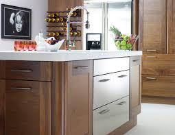 Walnut Kitchen Cabinet Maple Butcher Block Countertop Edge Grain Countertops Maple
