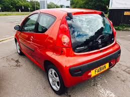 used orange peugeot 107 for sale swansea