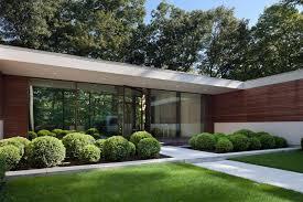 u shaped house modern two story u shaped house