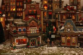 miniature halloween village a christmas village 2012 virtual advent tour love laughter