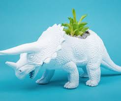animal planters diy dinosaur planters 5 steps with pictures