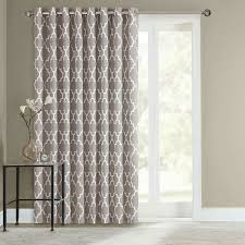 Top Rated Sliding Patio Doors Curtain Best 2017 Regular Sliding Door Drapes Ideas Sliding Glass