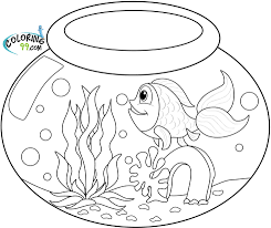 perfect goldfish coloring page 84 about remodel coloring for kids