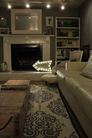Living Room Lights Diy Marquee Sign With Led Globe Lights
