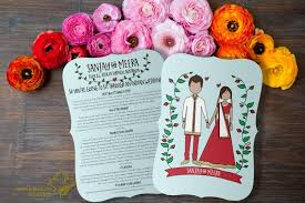 indian wedding programs indian wedding program boho indian printable hindu wedding