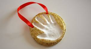 keepsake craft baking soda clay handprint ornaments play cbc