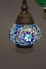 Mosaic Chandelier Turkish Spiral 5 Piece Mosaic Chandelier The Dancing Pixie