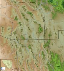 Map Of Southern Arizona by Finding Arizona Sky Islands Of Arizona