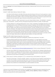Resumen Apa  ta Edicion  apa  th edition annotated bibliography