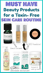 the best toxin free skin care and make up products