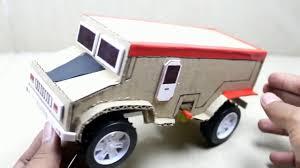 membuat miniatur mobil dari kardus cara membuat mobil army keren dari kardus youtube