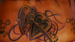 heart tattoo nightmares spike
