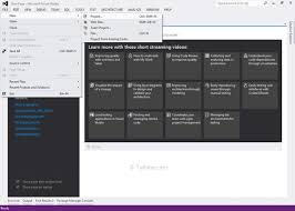 layout design in mvc 4 different types of project templates in asp net mvc tutlane