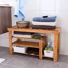 sitzbank für badezimmer sobuy schuhregal schuhbank schuhablage sitzbank duschhocker fsr15