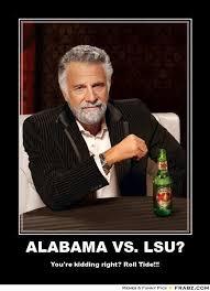 Funny Lsu Memes - alabama vs lsu dos equis meme generator posterizer football