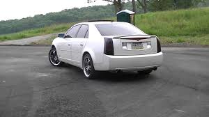 2006 cadillac cts top speed 2006 cadillac cts 3 6l with volant intake and gibson exhaust