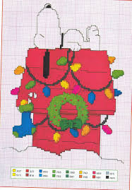 charlie brown counted cross stitch cross stitching pinterest