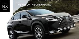 lexus used car finance deals 2017 lexus nx buy or lease a new lexus near conshohocken pa