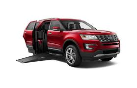 Ford Explorer Build - mobility company braunability to build wheelchair accessible ford