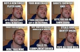Good Guy Meme - good guy greg identity info