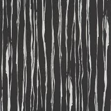 abstract stripes wallpaper in black and grey design by bd wall