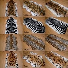 White Leopard Rug Tiger Rug Ebay