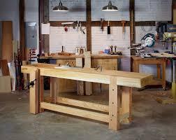 roubo workbench kits from reclaimed red oak re co bklyn