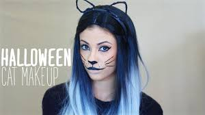 cat makeup halloween makeup tutorial youtube