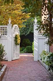 white gate great gardens u0026 ideas gardening and landscape