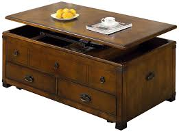 rustic coffee table with storage trunk style coffee table simple functional and different cole