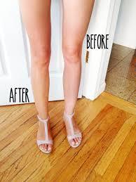 leg makeup into the gloss