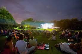 Botanical Gardens Open Air Cinema Valentines Open Air Cinema