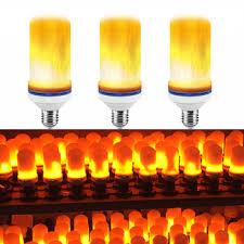 led flame effect fire light bulbs cozyswan led flame effect light bulb led flickering flame light