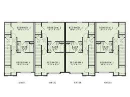 4 plex home plans multi family home design 025m 0092 at