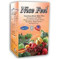 nice feel fiber nutrition drink for constipation detox cleanse