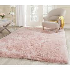 Rugs For Baby Rooms Nuloom Cozy Soft And Plush Faux Sheepskin Shag Kids Nursery Pink