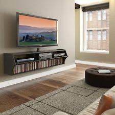 Wall Mount Tv Stand With Shelves Tv Stand Console Wall Mounted Floating Entertainment Center