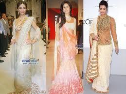 saree draping new styles fashionable saree draping styles to try boldsky com