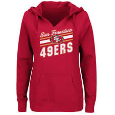 san francisco 49ers women u0027s sweatshirts hoodies fleece crewneck