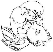 download winged wolf coloring pages ziho coloring