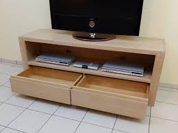 lowboard buche moderne tv anrichte lowboard in eiche massiv grifflos breite