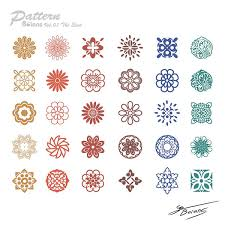 chinese design chinese style traditional design patterns vector misc free vector