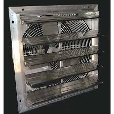shutter exhaust fan 24 hessaire shutter fan 24 4450 cfm 24sf4v n zoro com