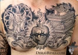 black and grey christian faith by dimas reyes tattoonow