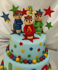 alvin chipmunks cake birthday cakes